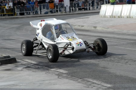 2010/12/10 - Granada - Spain - Display with racing car racing cars of various categories in Granada Stock Photo - 8722466