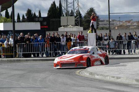 2010/12/10 - Granada - Spain - Display with racing car racing cars of various categories in Granada Stock Photo - 8722478