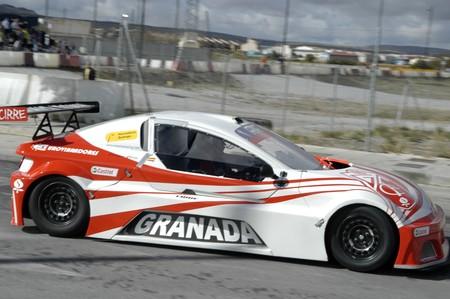 2010/12/10 - Granada - Spain - Display with racing car racing cars of various categories in Granada Stock Photo - 8722463