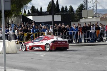 2010/12/10 - Granada - Spain - Display with racing car racing cars of various categories in Granada Stock Photo - 8722487