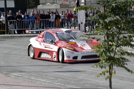 2010/12/10 - Granada - Spain - Display with racing car racing cars of various categories in Granada Stock Photo - 8722486