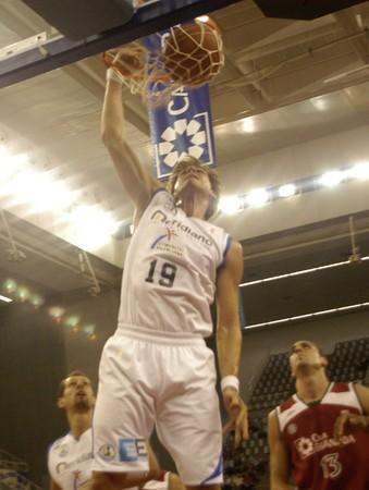 2009/10/14- Granada-Spain-party basketball ACB CB Granada between Granada and Alicante Stock Photo - 8151539