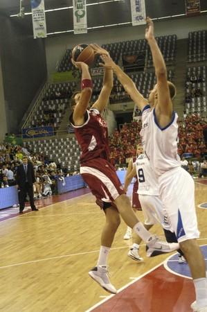 20091014- Granada-Spain-party basketball ACB CB Granada between Granada and Alicante