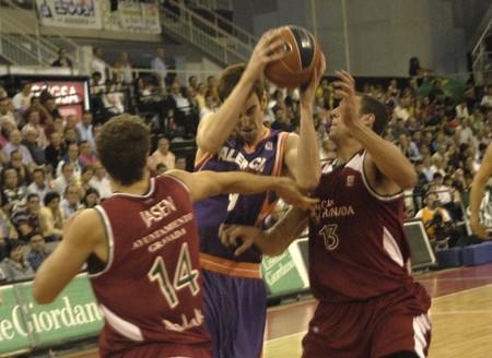 20091025- Granada-Spain-party basketball ACB CB Granada between Granada and Valencia Basket