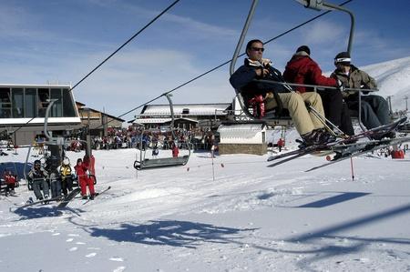 2009-01-15 - Granada-Spain-Ski Sierra Nevada                       Stock Photo - 8321961
