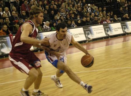 20100131 - Granada - Spain-Basketball game between the Granada and the Jacobean