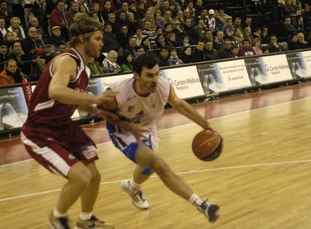 2010/01/31 - Granada - Spain-Basketball game between the Granada and the Jacobean Stock Photo - 8461726