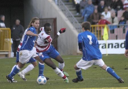 2010/01/31 - Granada - Spain-football game between the Granada and Ecija Stock Photo - 8461707