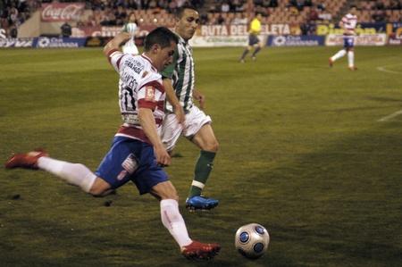 20100327 - Granada - Spain-football game between the Granada and Betis