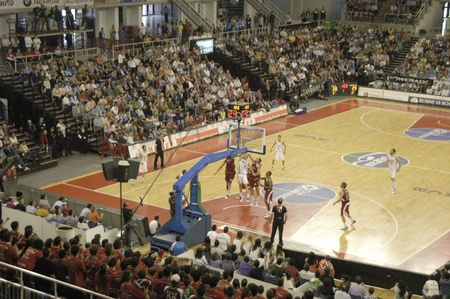 20102425 - Granada - Spain - Match basketball ACB CB Granada between Granada and Real Madrid