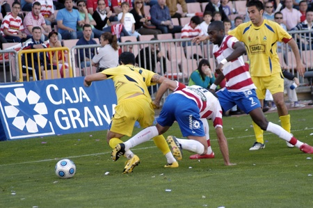 20100510 - Granada - Spain - Football game between the Granada CF and Alcorcón Editorial