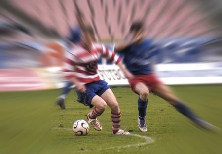 20110102 - Granada - Spain - Football game between the Granada CF and Alcorcón Editorial