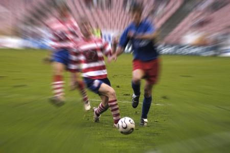 2011/01/02 - Granada - Spain - Football game between the Granada CF and Alcorcón Stock Photo - 8551201