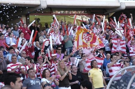 2010/09/22 - Granada - Spain - Fans of Granada CF Stock Photo - 8608027