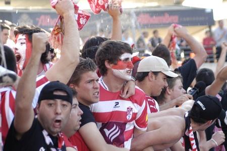2010/09/22 - Granada - Spain - Fans of Granada CF Stock Photo - 8608013