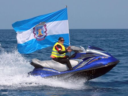 personal watercraft: voyage from motril to melilla in aquatic bikes 02082010