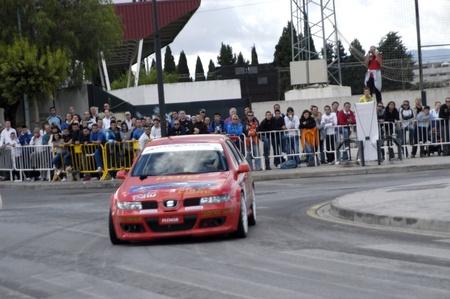 coche: Exhibición automovilística en la localidad de Armilla, en la provincia de Granada 10-10-2010