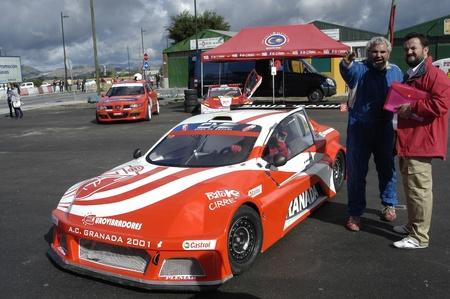 Exhibici�n automovil�stica en la localidad de Armilla, en la provincia de GranadaEnrique Cirre10-10-2010 Stock Photo - 8632200