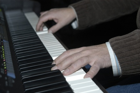 frederic chopin: pianist Stock Photo