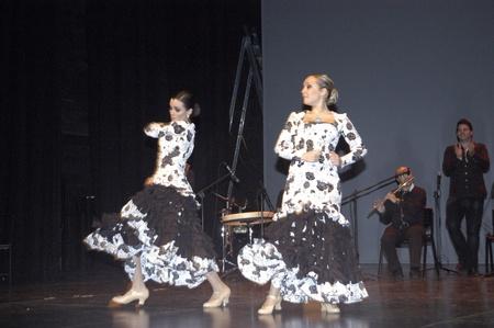 2010/05/12 - granada - spain - flamenco evening in the theater pablo neruda Stock Photo - 9690786