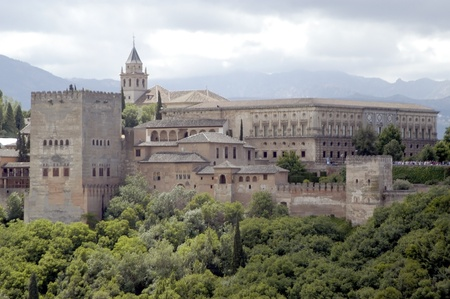 view of the Alhambra in Granada Stock Photo - 8702820