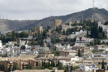 view of the Alhambra in Granada photo