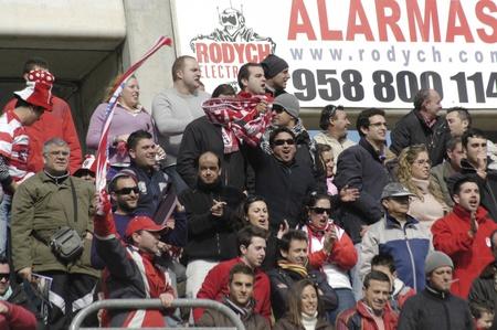 public servants: 20110130 - Granada - Spain - Football game between the Granada CF and Real Betis