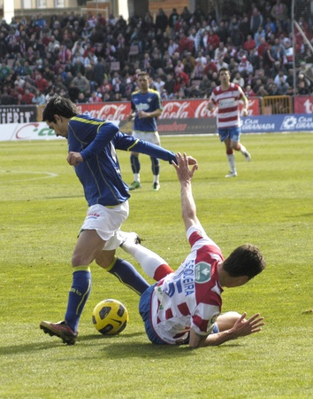 20110130 - Granada - Spain - Football game between the Granada CF and Real Betis