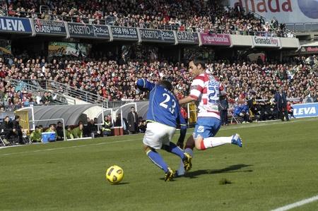 20110130 - granada - spain - football game between the granada cf and real betis