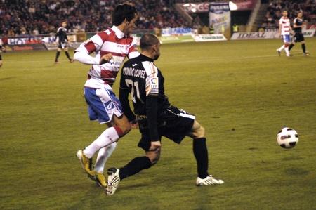 negoro: 20110211 - granada - spain - football game between the granada cf and albacete