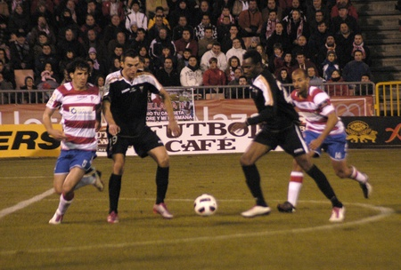 2011/02/11 - granada - spain - football game between the granada cf and albacete Stock Photo - 9644015
