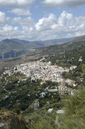 20100820 - Lanjarón- Granada-  - Spain - Overview of Lanjaron in Granada province