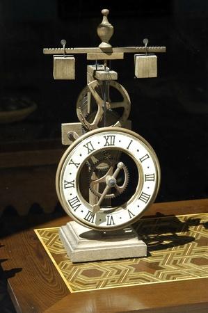 Wooden clock photo