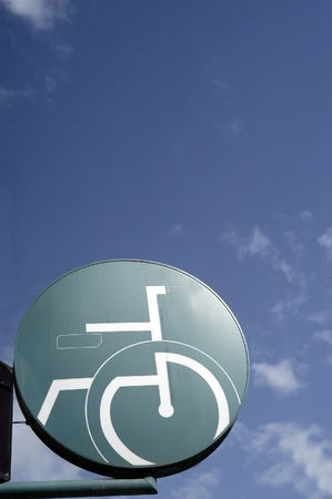 wheelchair symbol, disabled access photo