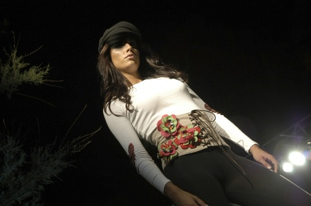 07/08/2007 - granada - España - moda y moda de ropa mostrar pasarela en granada
