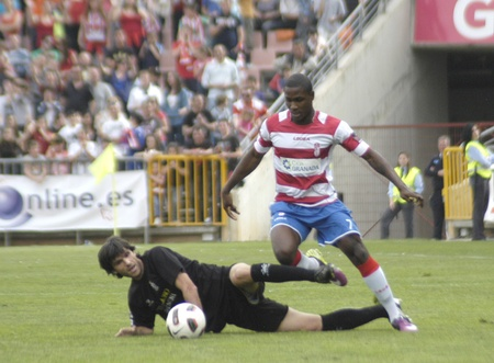 football match between the second division granada and cartagena cf 02042011