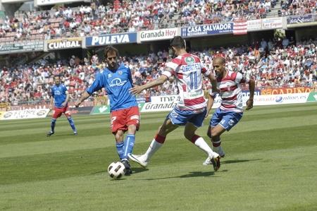 warning fans: football match between granada cf numancia 16.04.2011