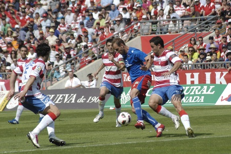 infractions: football match between granada cf numancia 16.04.2011
