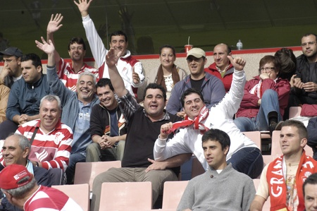 impartiality: football match between granada and tenerife cf oscar pitarra 05012011 Editorial