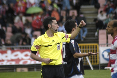 football match between granada and tenerife cf 05012011 Editorial