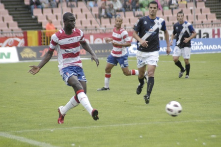 football match between granada and tenerife cf 05/01/2011 Stock Photo - 9690904