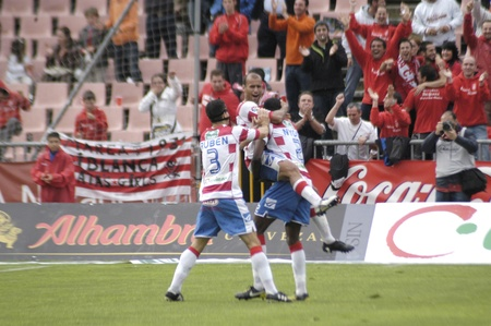horizontal gamefans: football match between granada and tenerife cf 05012011 Editorial