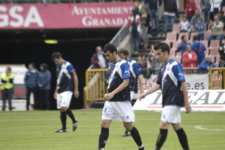 umpiring: football match between granada and tenerife cf 05012011 Editorial
