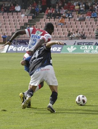 football match between granada and tenerife cf 05/01/2011 Stock Photo - 9690920