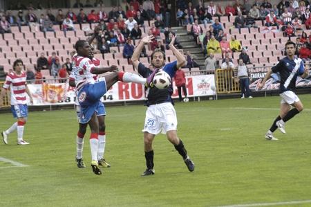 umpiring: football match between granada and tenerife cf 05012011 Editorial