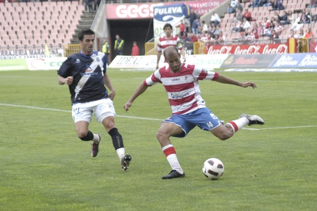 horizontal gamefans: football match between granada and tenerife cf 05012011 Editorial