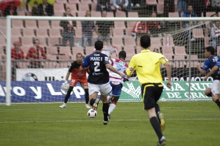 impartiality: football match between granada and tenerife cf 05012011 Editorial
