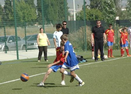 2011/05/28 - granada - spain - child fúttbol championship granada Stock Photo - 9664341