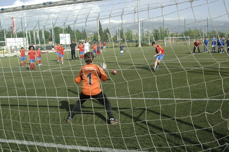 penalty: 20110528 - granada - spain - child fúttbol championship granada Editorial
