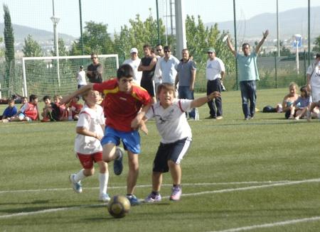 28052011 - granada - spain - uefa cup 7 in the gym we granada, with the participation of hazard sports schools,